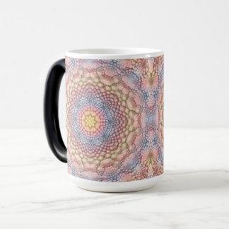 Pastels Vintage Kaleidoscope Morphing Mug