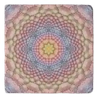 Pastels Vintage Kaleidoscope   Trivet