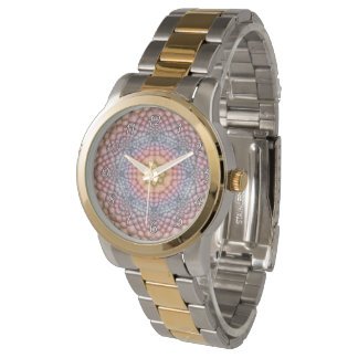 Pastels Vintage Kaleidoscope Vintage Womens Watch