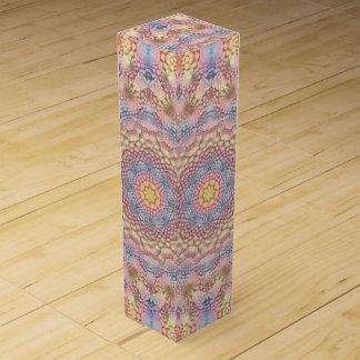 Pastels Vintage Kaleidoscope Wine Gift Box