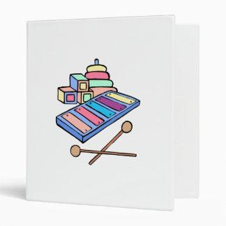 pastle xylophone vinyl binders