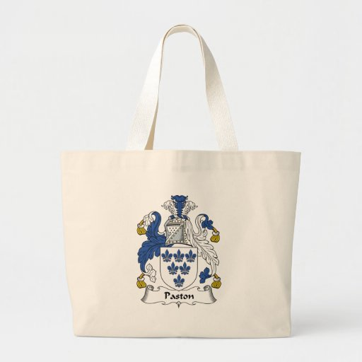 Paston Family Crest Canvas Bag