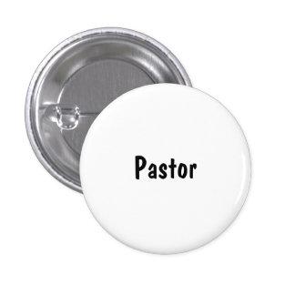 Pastor 1 Inch Round Button