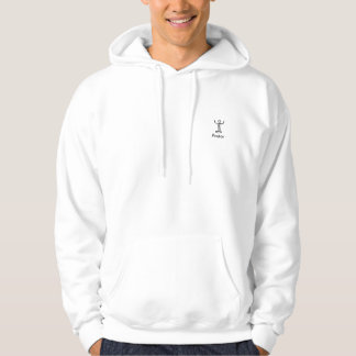 pastor behind pulpit hooded pullover