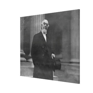 Pastor Charles Taze Russell Half-length Portrait Gallery Wrapped Canvas