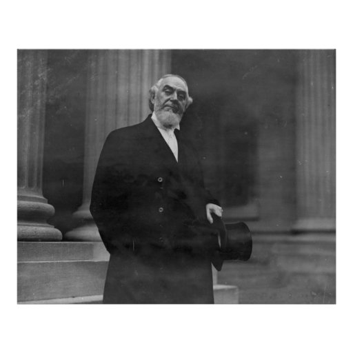 Pastor Charles Taze Russell Half-length Portrait Posters