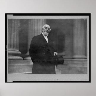 Pastor Charles Taze Russell Half-length Portrait Poster
