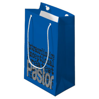 Pastor Extraordinaire Small Gift Bag
