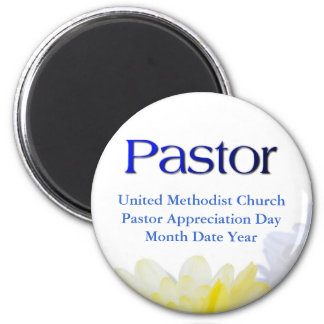 Pastor Gifts 2 Inch Round Magnet