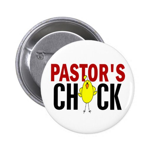 PASTOR'S CHICK PINBACK BUTTON
