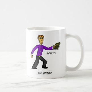 Pastor Shetz Classic White Coffee Mug