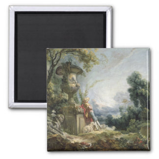 Pastoral Scene, or Young Shepherd in a Landscape Magnet
