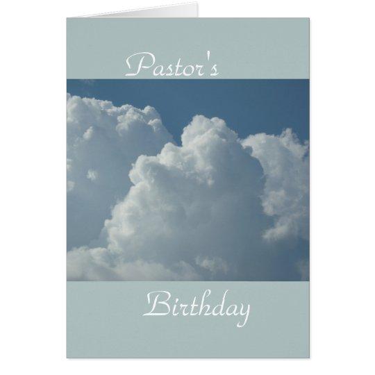 Pastor's Biryhday Card
