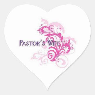 Pastors Wife Pink Stickers