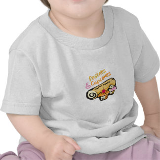 PASTRIES AND CUPCAKES TEE SHIRT