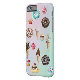 pastries and ice cream iphone case
