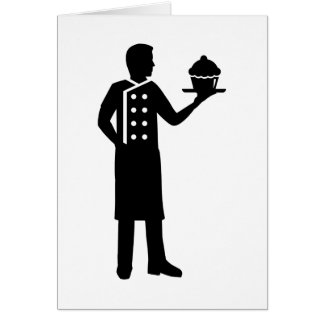 Pastry chef card