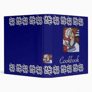 Pastry Chef Cookbook Vinyl Binder