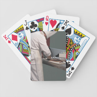 Pastry chef in the kitchen poker deck