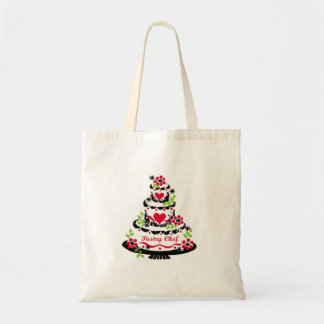 Pastry Chef on Cake Tote Bag