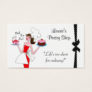 Pastry Diva Business Cards