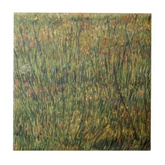 Pasture in Bloom by Vincent van Gogh, Vintage Art Tile