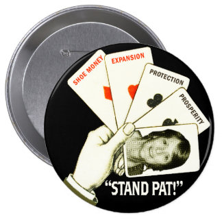 Pat for President Button
