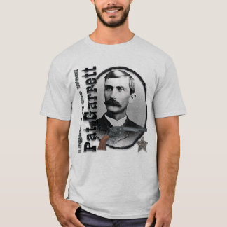 Pat Garrett Legendary Lawman Deluxe T shirt
