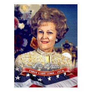 Pat Nixon, First Lady of the U.S. Postcard
