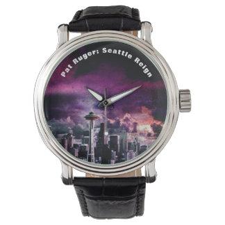 Pat Ruger: Seattle Reign Men's Wrist Watch