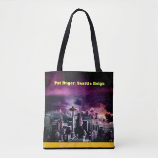 Pat Ruger: Seattle Reign Tote Bag