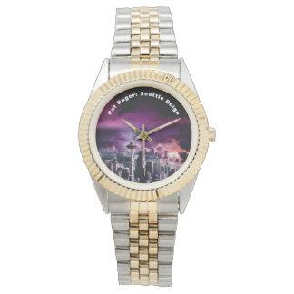Pat Ruger: Seattle Reign Women's Two-Tone Wrist Wa Watch