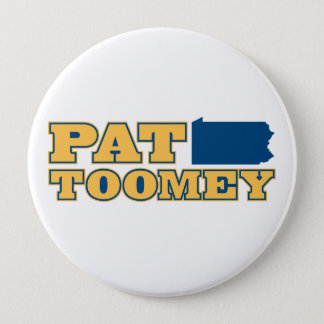 Pat Toomey for Pennsylvania 4 Inch Round Button