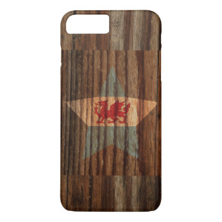 Patagonia Flag Star on Wood theme iPhone 7 Plus Case