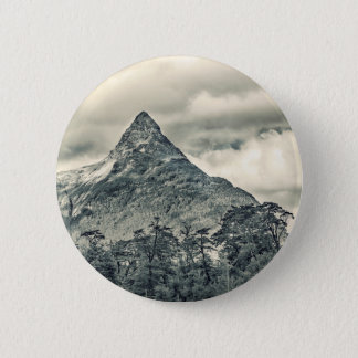 Patagonia Forest Landscape, Aysen, Chile 2 Inch Round Button