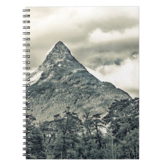 Patagonia Forest Landscape, Aysen, Chile Spiral Notebook