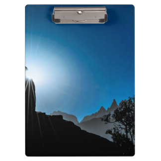 Patagonia Landscape Scene, Aysen, Chile Clipboard
