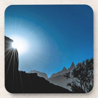 Patagonia Landscape Scene, Aysen, Chile Coaster