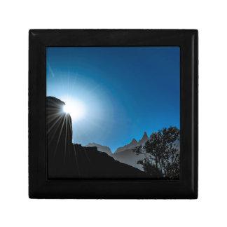Patagonia Landscape Scene, Aysen, Chile Gift Box