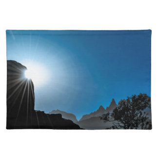 Patagonia Landscape Scene, Aysen, Chile Placemat