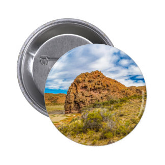 Patagonian Landscape, Argentina 2 Inch Round Button