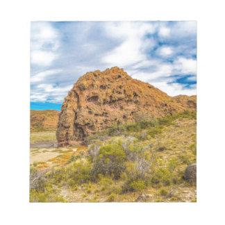 Patagonian Landscape, Argentina Notepad