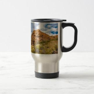 Patagonian Landscape, Argentina Travel Mug