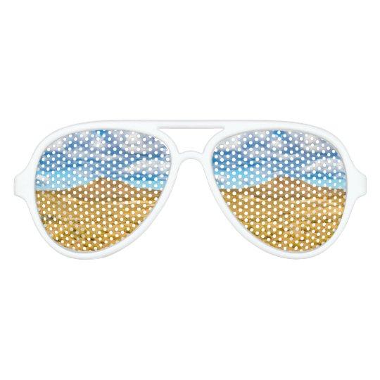 Patagonian Landscape Scene, Argentina Aviator Sunglasses