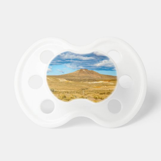 Patagonian Landscape Scene, Argentina Baby Pacifier