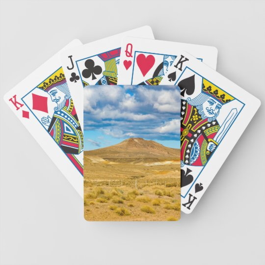 Patagonian Landscape Scene, Argentina Bicycle Playing Cards