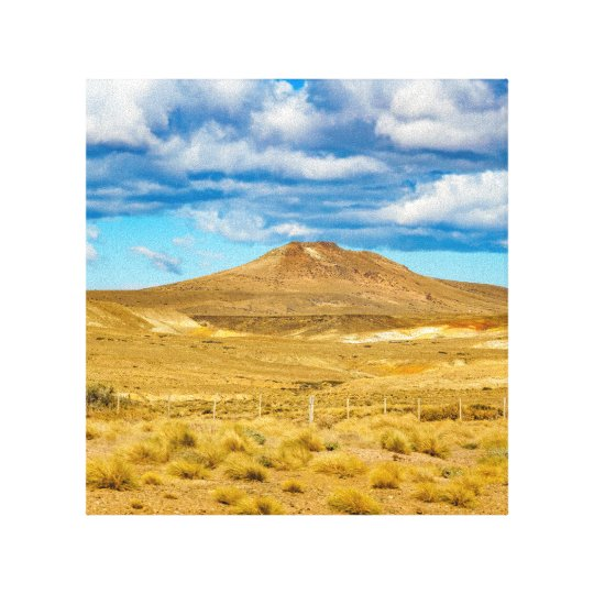 Patagonian Landscape Scene, Argentina Canvas Print