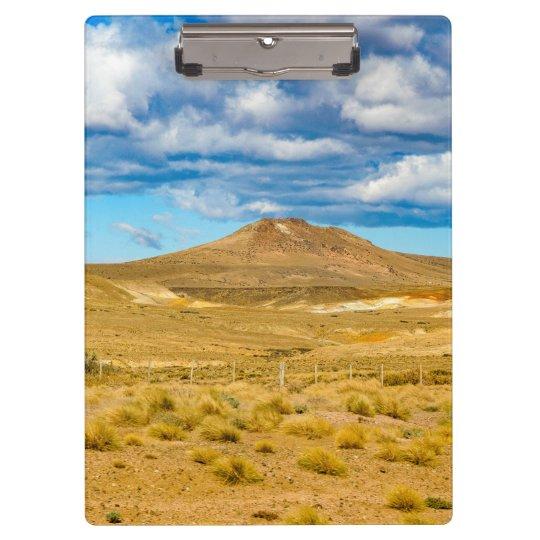 Patagonian Landscape Scene, Argentina Clipboard