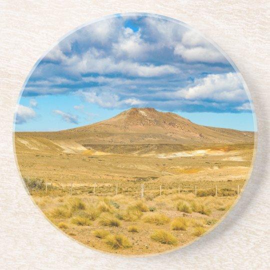Patagonian Landscape Scene, Argentina Coaster