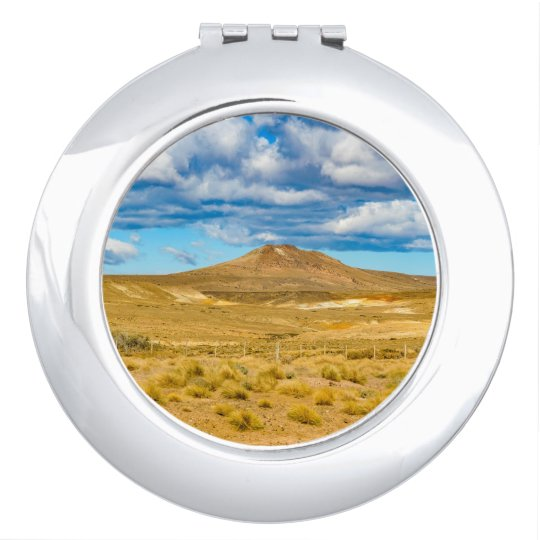 Patagonian Landscape Scene, Argentina Compact Mirror